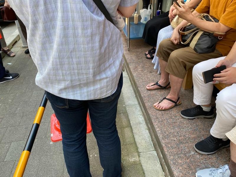 王道家直系IEKEI TOKYO 優先列に並ぶ