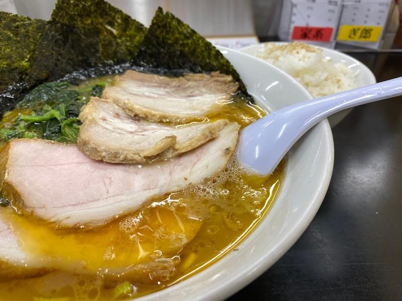 ぎょうてん屋町田店 チャーシュー麺(930円)+ライス小(40円)