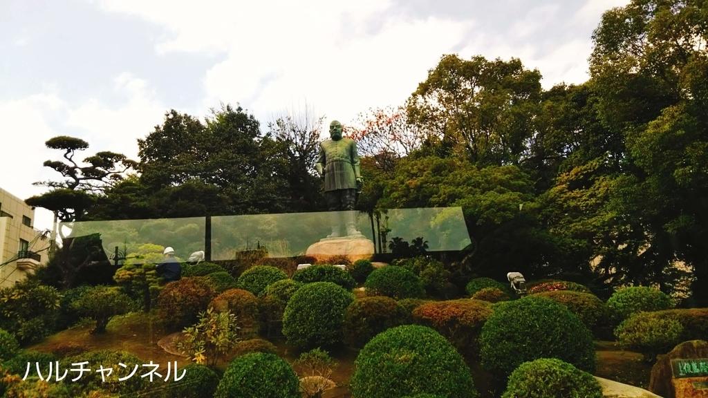鹿児島の西郷隆盛の銅像