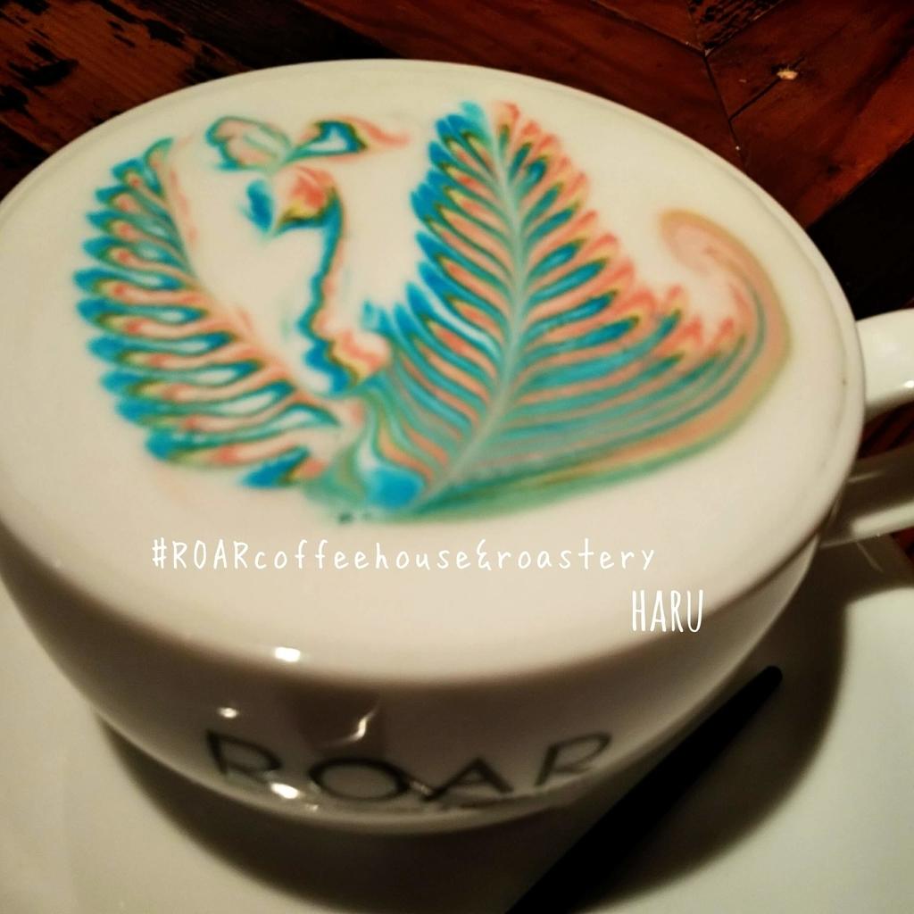 レインボーアート『ロアコーヒー』