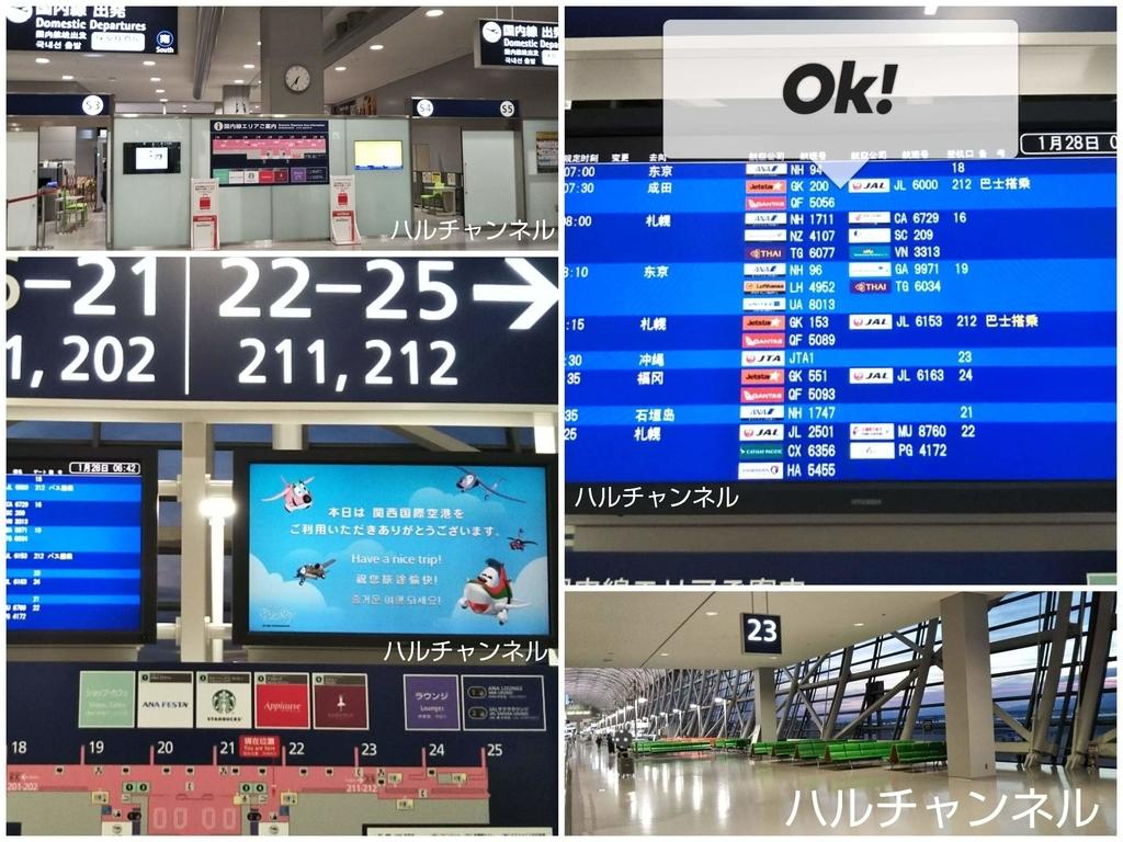 関西空港『朝の制限エリア内』