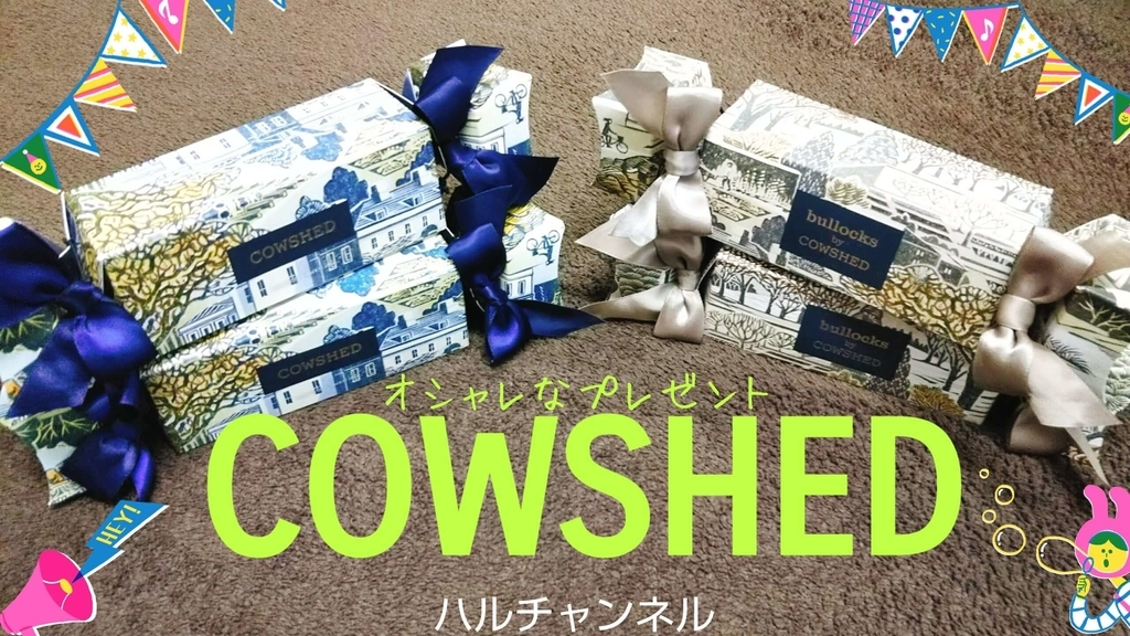 COWSHEDを購入したよ!