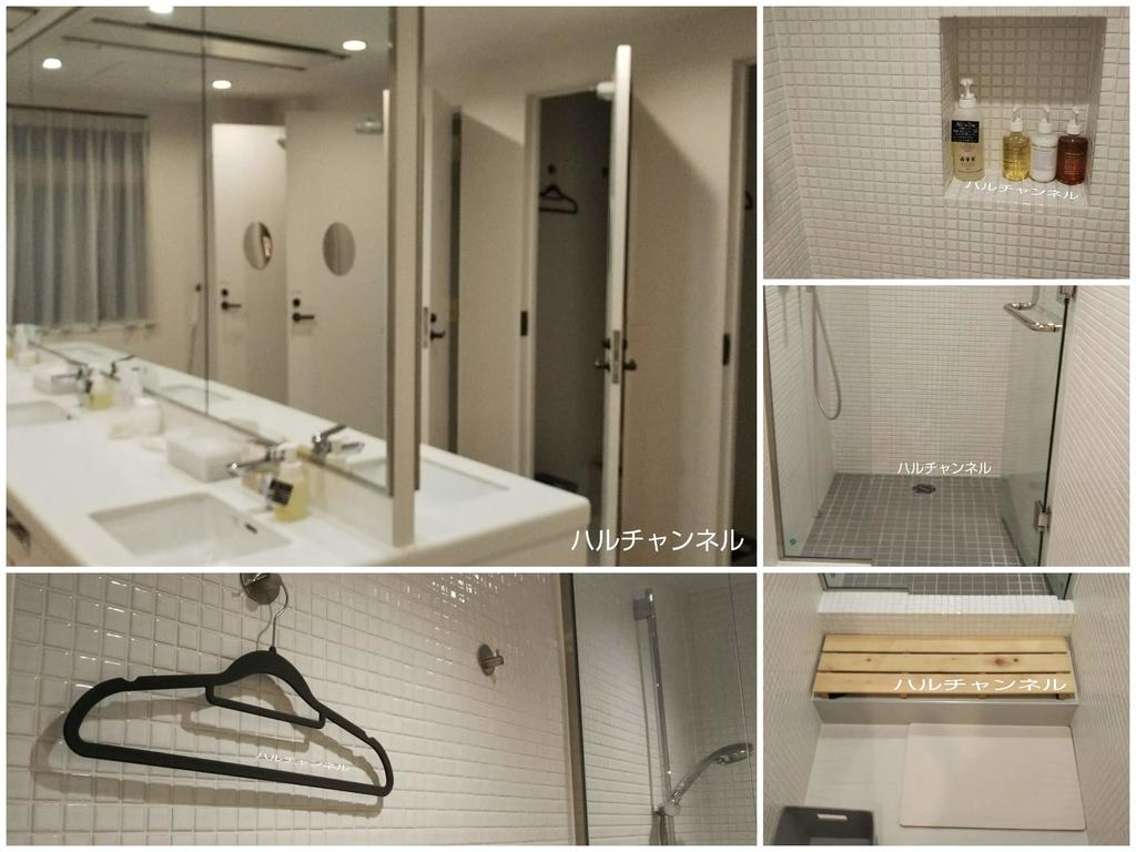 MAYU東京WOMANのシャワールーム