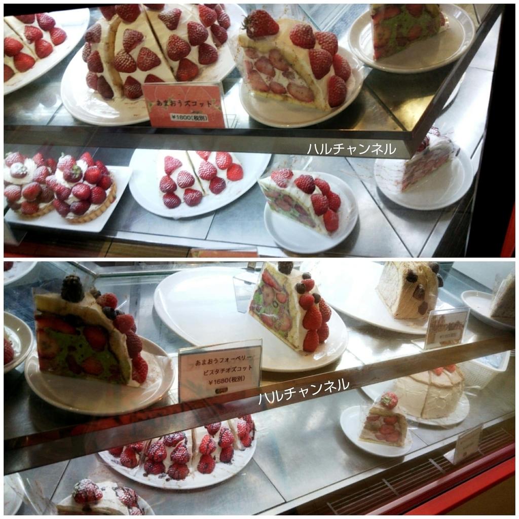 果実園(東京駅)/ケーキのショーケース