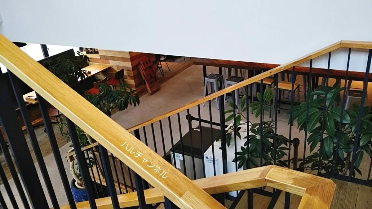 【伊丹空港】NORTH SHORE(ノースショア)階段