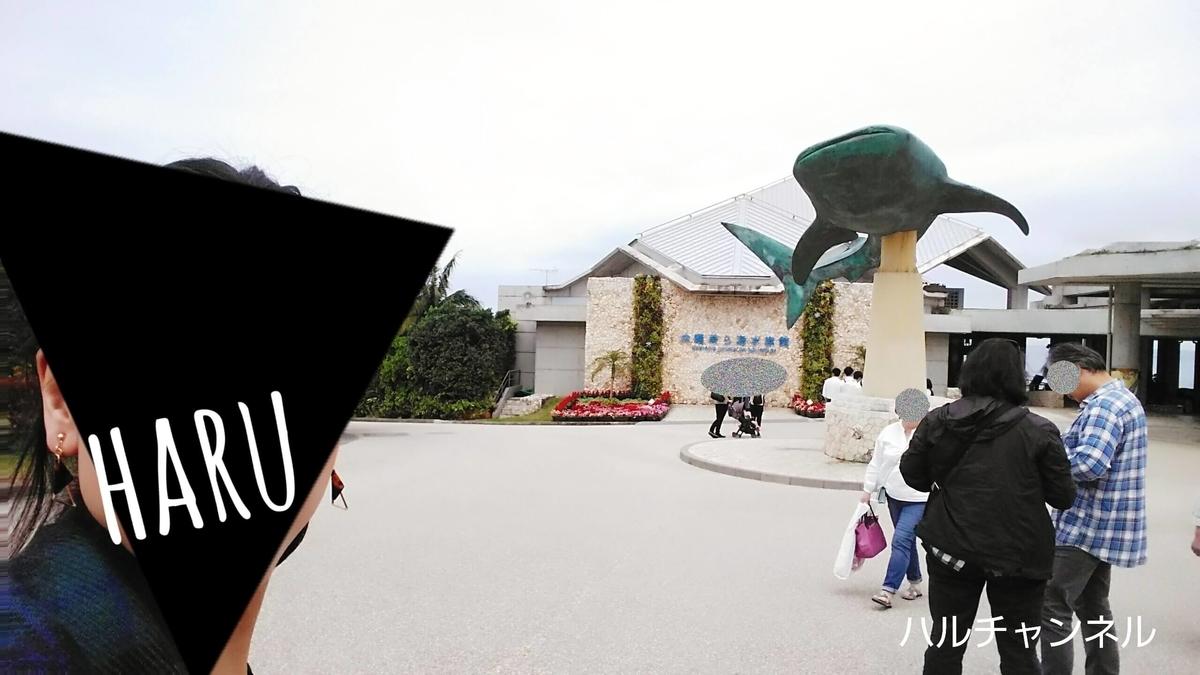 【沖縄】美ら海水族館「ジンベエザメのモニュメントとハイチーズ!」