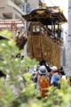 京都新聞写真コンテス 船鉾組立中