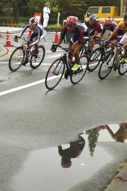京都新聞写真コンテスト 雨上がりレース