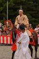 京都新聞写真コンテスト 時代祭り 携帯止めろ!