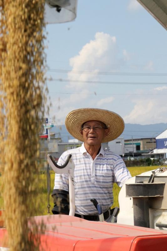 京都新聞写真コンテスト 城陽の収穫