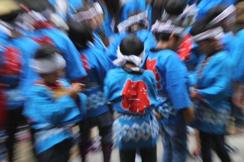京都新聞写真コンテスト 精華町春日神社の祭り
