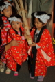 京都新聞写真コンテスト  鞍馬火祭りの三兄弟