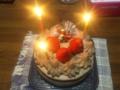 久しぶりのまぁるいケーキだ!