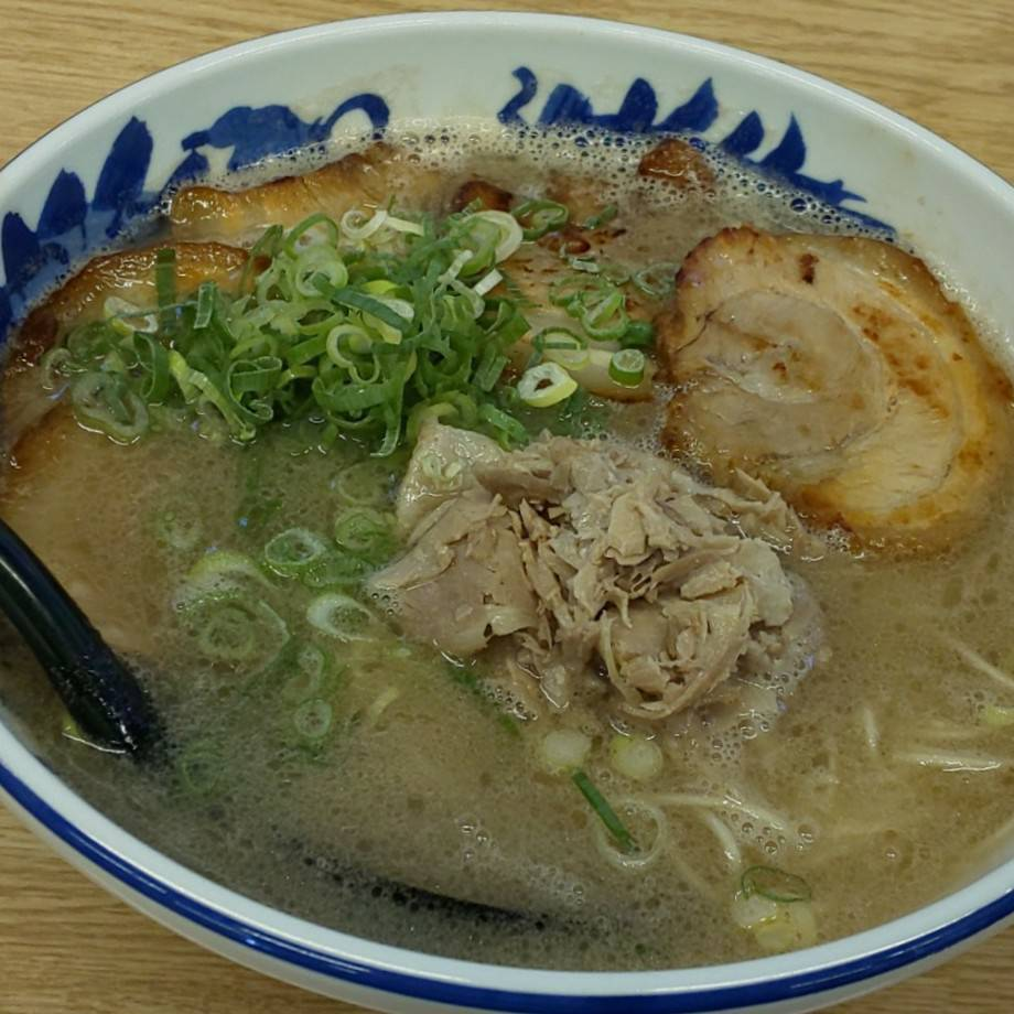 糸島ラーメン銅鑼 糸島豚骨チャーシュー麺