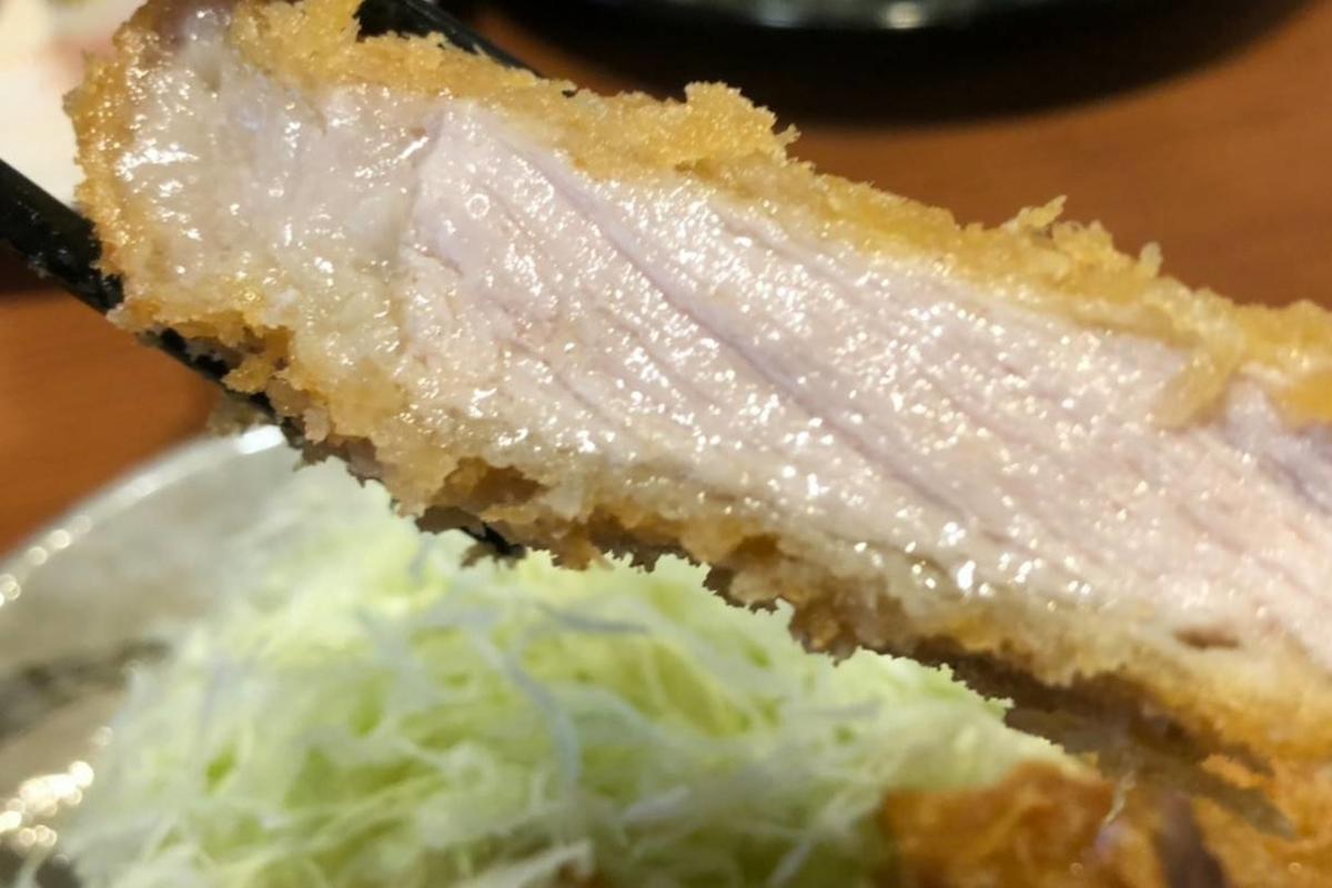 きんのつる 福岡県産ハイポー豚サーロイン 福岡極とんかつ