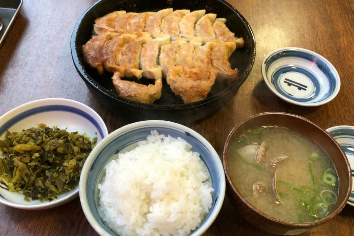 鉄なべ 荒江本店 貝汁定食 iggy2019