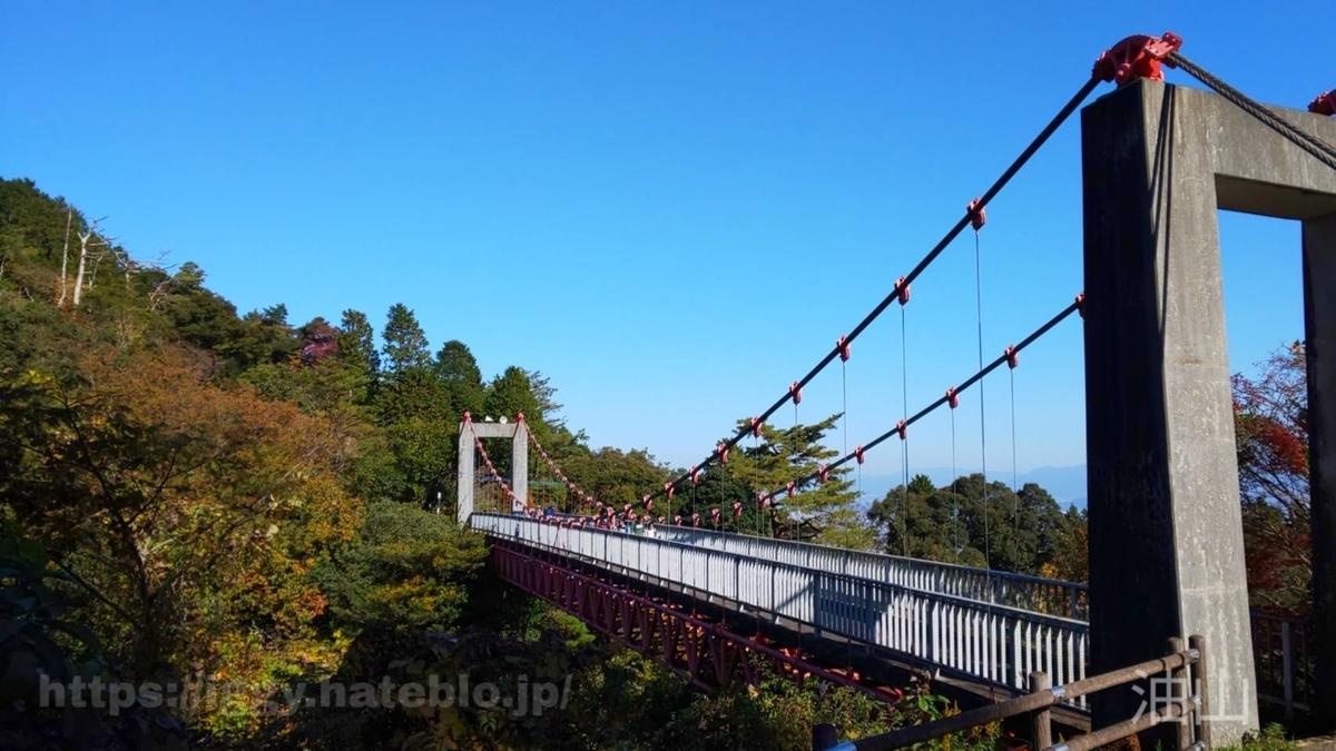 油山市民の森 つり橋① iggy2019