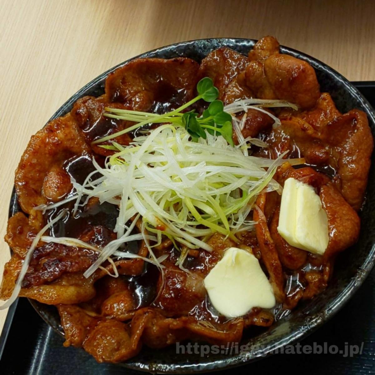 北海道すた丼 iggy2019