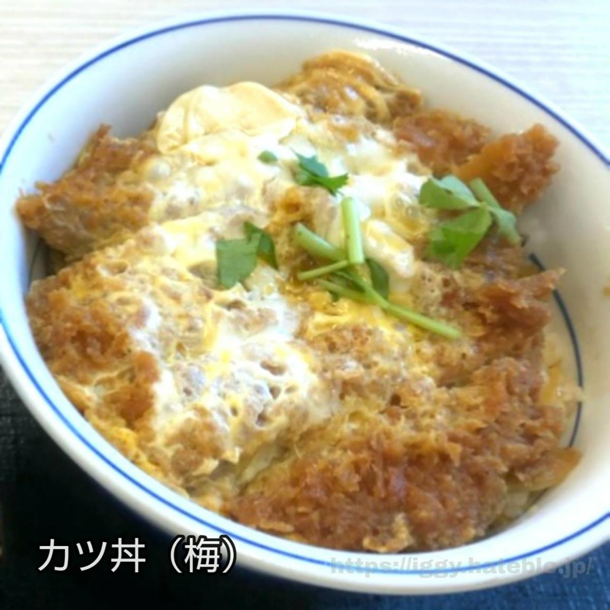かつや カツ丼(梅) iggy2019