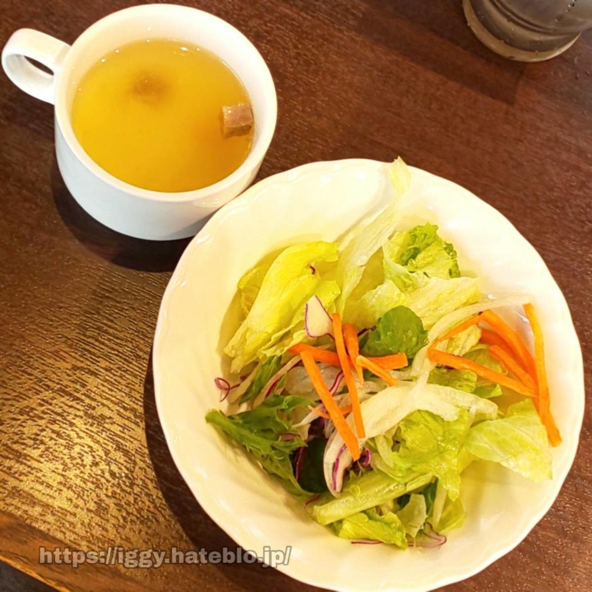 いきなりステーキ スープ&サラダ iggy2019