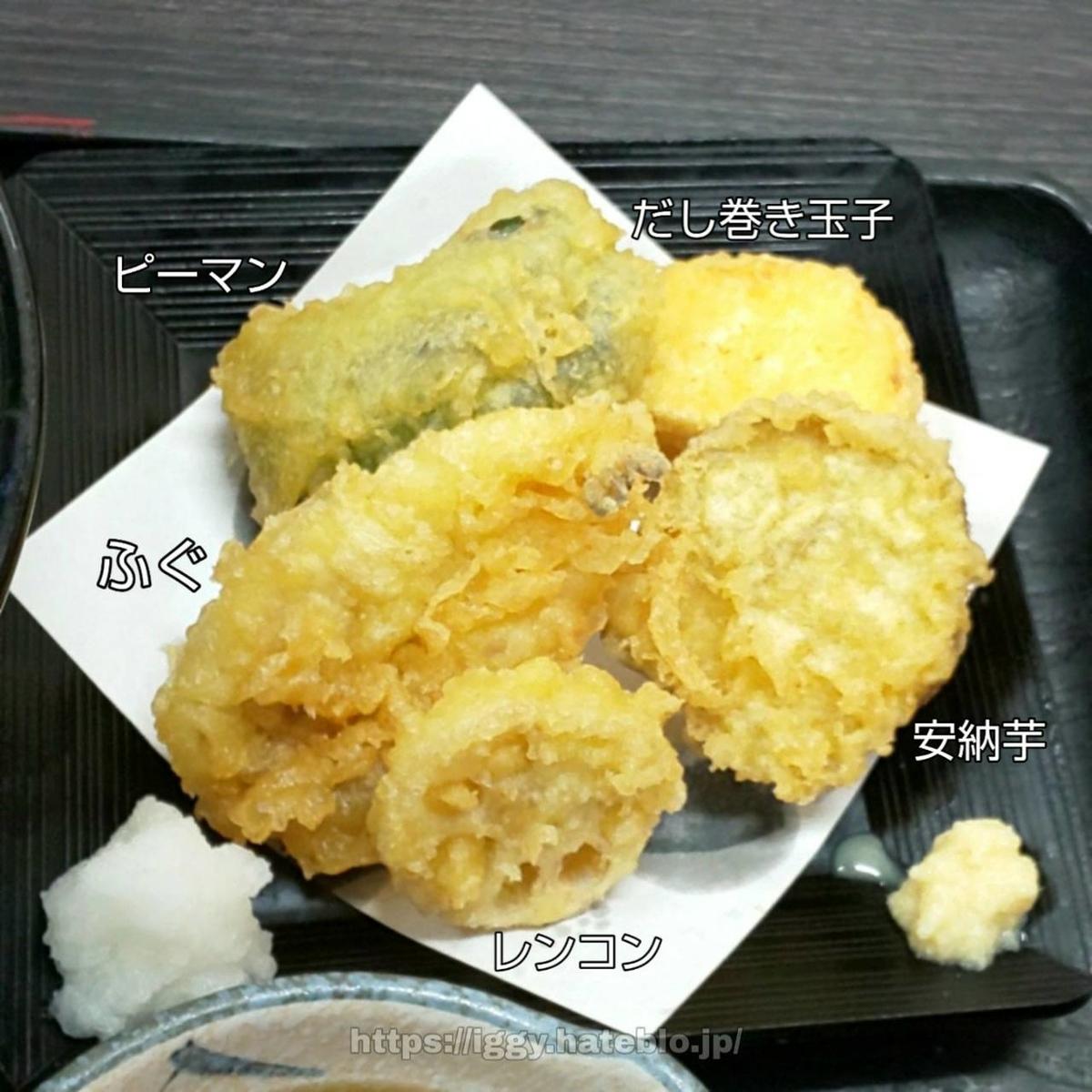 資さんうどん ふぐ天ぷら iggy2019