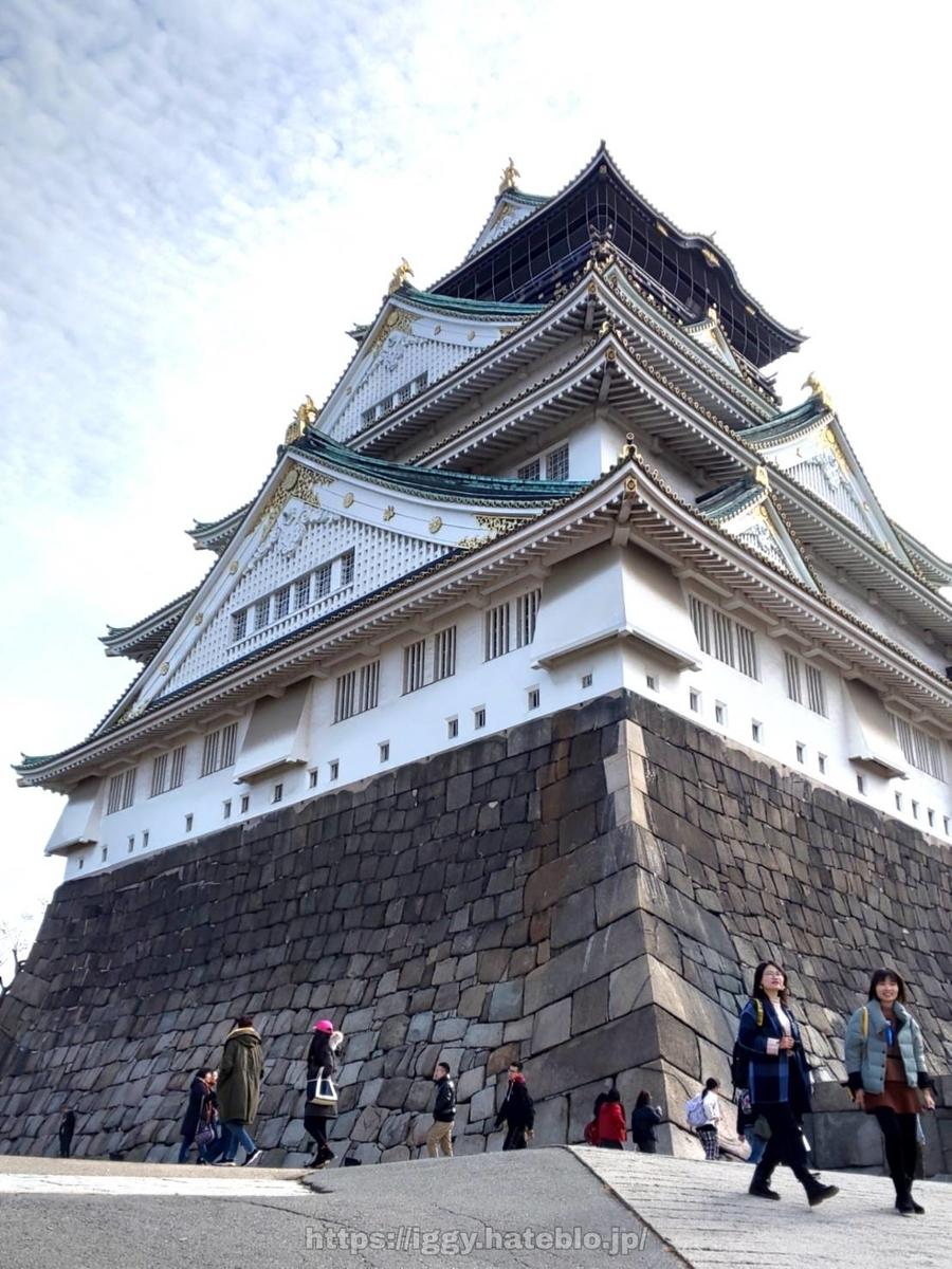 大阪城① iggy2019