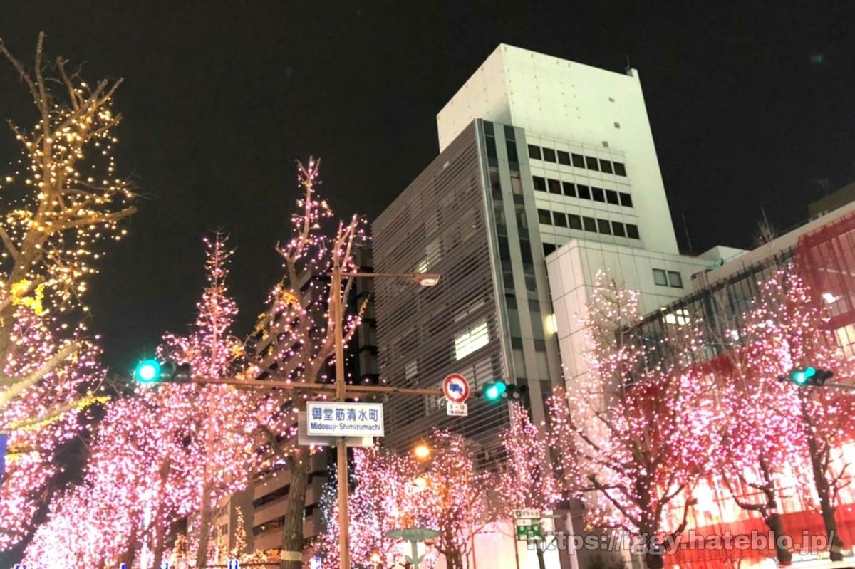 御堂筋 イルミネーション おすすめ大阪観光