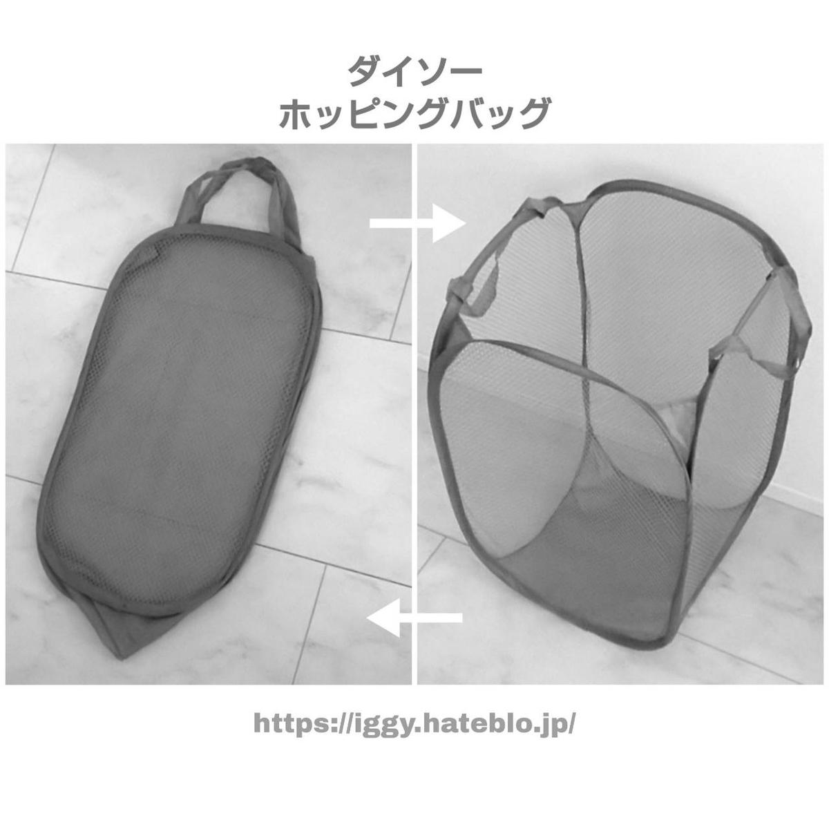 ダイソー ホッピングバッグ iggy2019