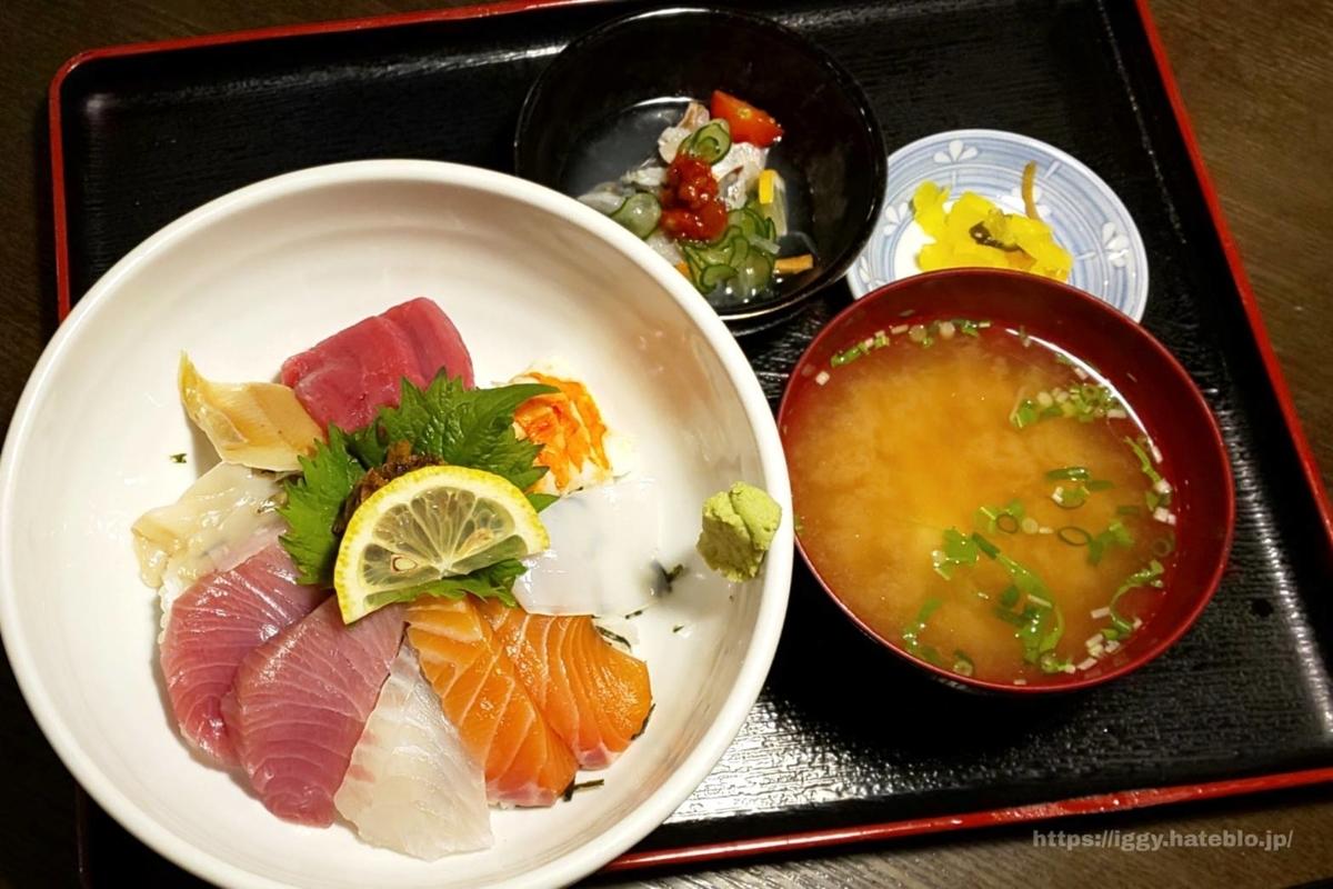 博多魚がし特上海鮮丼 iggy2019