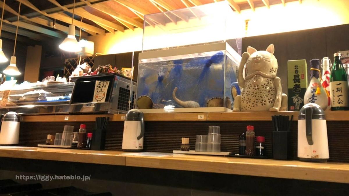 博多魚がしカウンター iggy2019