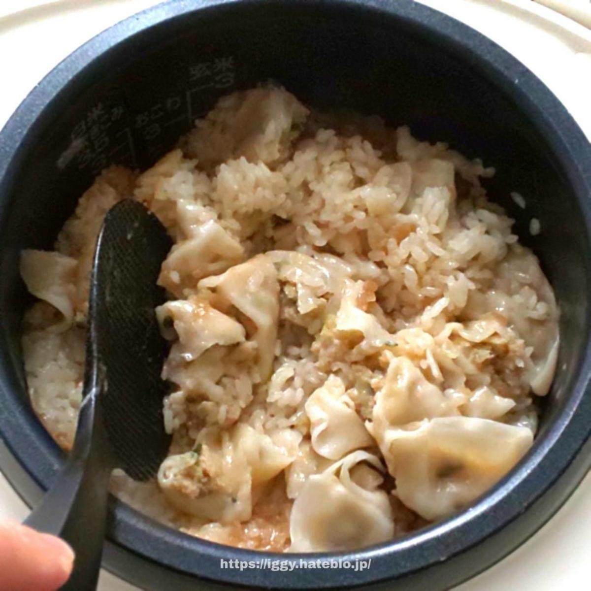 冷凍餃子丸ごとご飯③ iggy2019