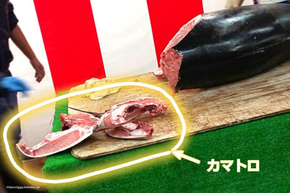 長浜鮮魚市場 本マグロ解体ショー「カマトロ」 iggy2019