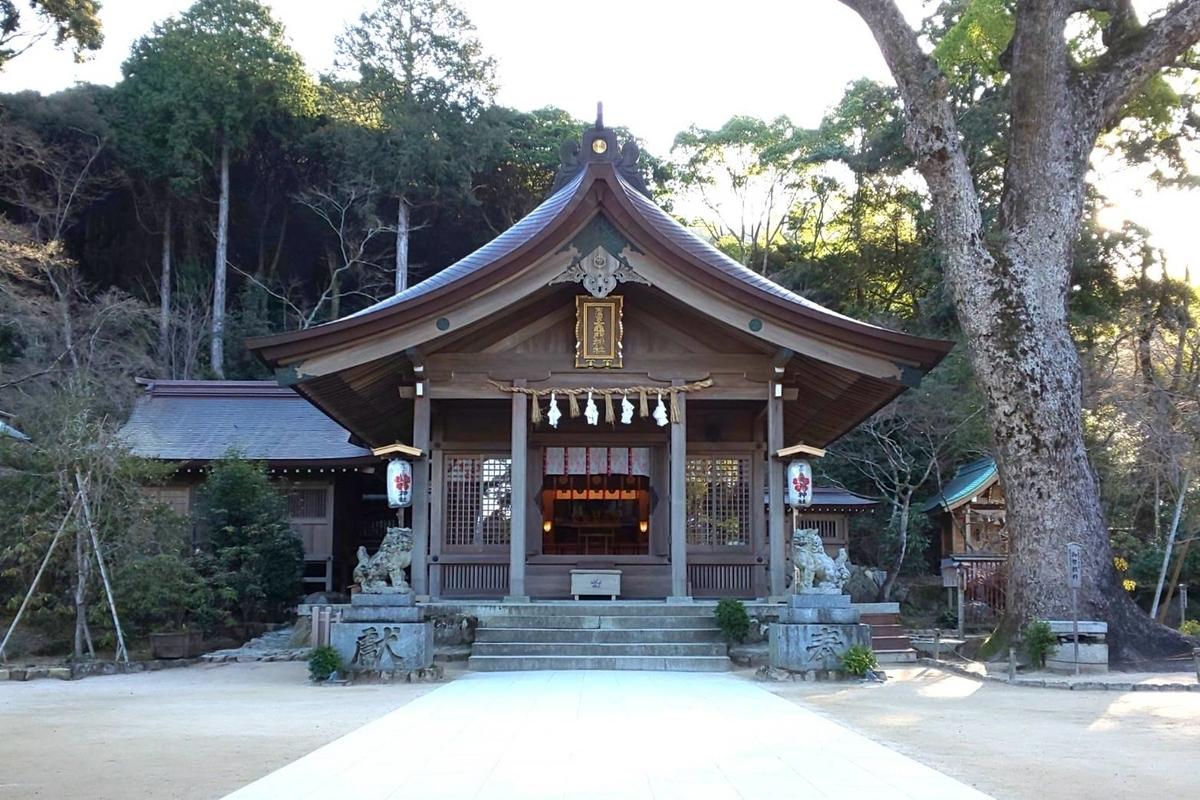 竈門神社の歴史 宝満山