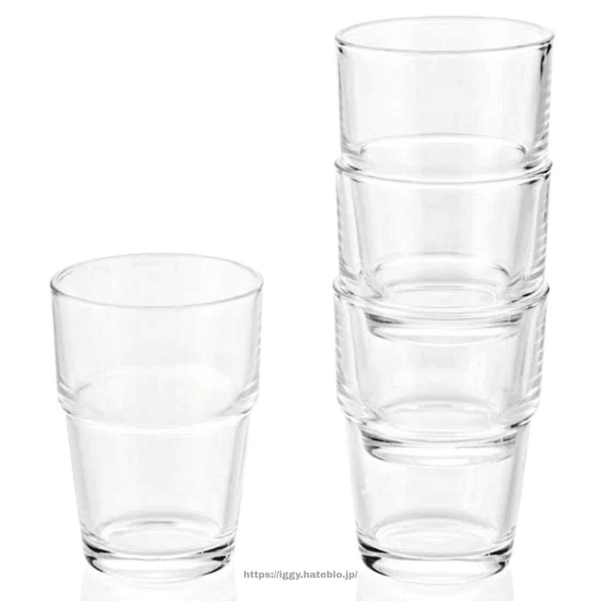 ニトリ グラス4個セット iggy2019