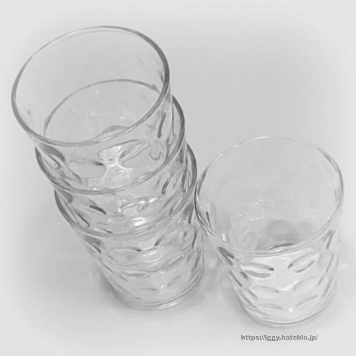 ニトリ グラス4個セット② iggy2019