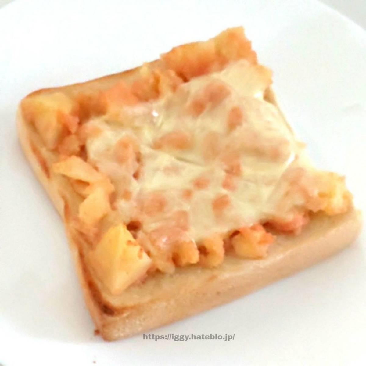 明太ポテトチーズトースト 作り方 材料