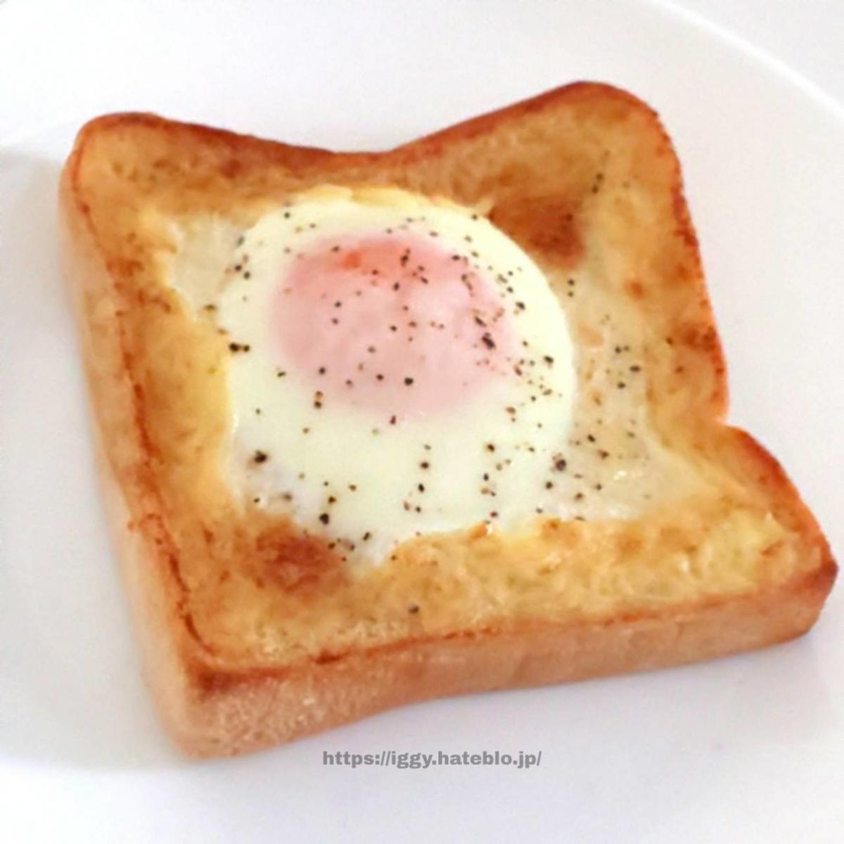 マヨエッグトースト こがしマヨたま 作り方