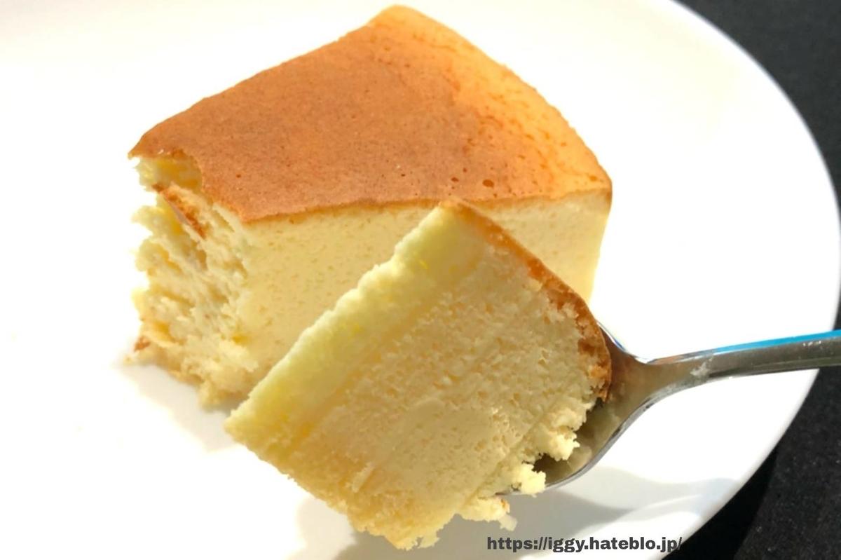 シャトレーゼ 糖質カットのスフレチーズケーキ② iggy2019
