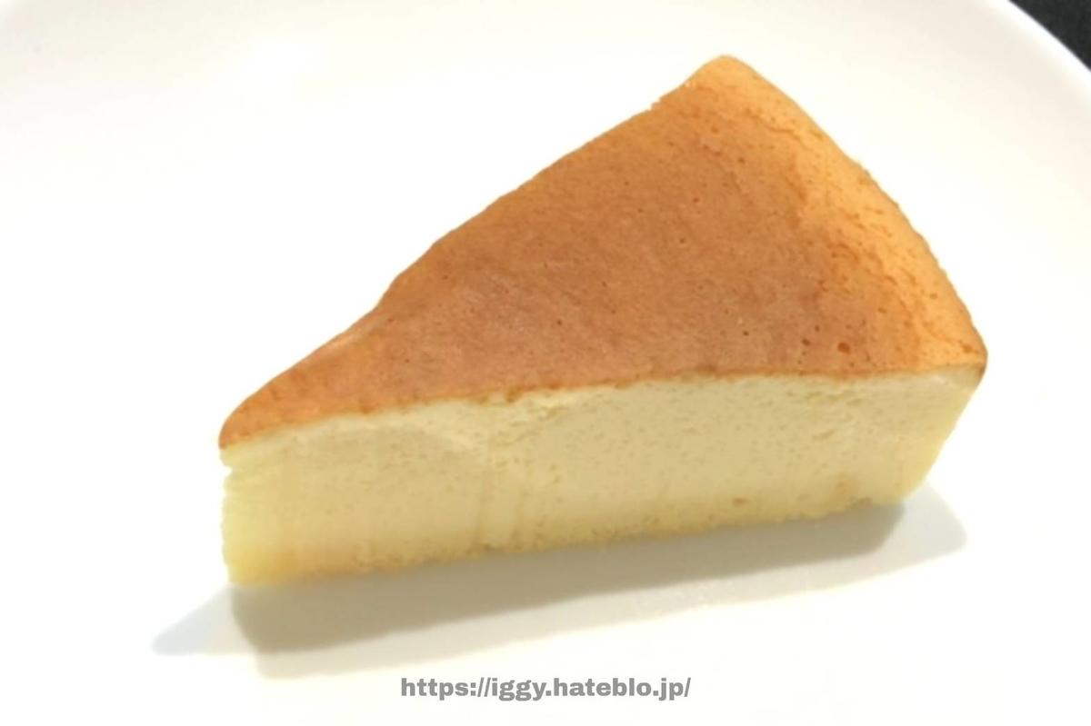 シャトレーゼ 糖質カットのスフレチーズケーキ① iggy2019
