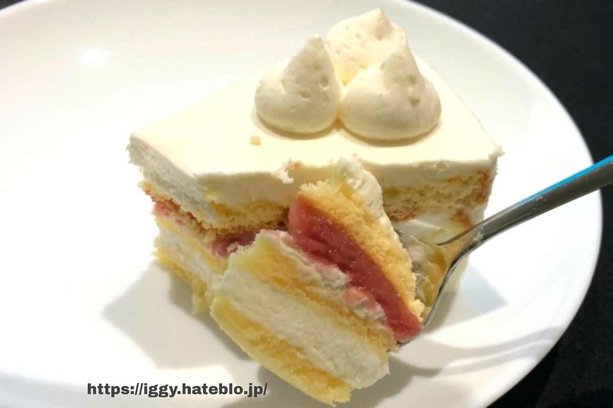 シャトレーゼ 糖質カットのショートケーキ② iggy2019