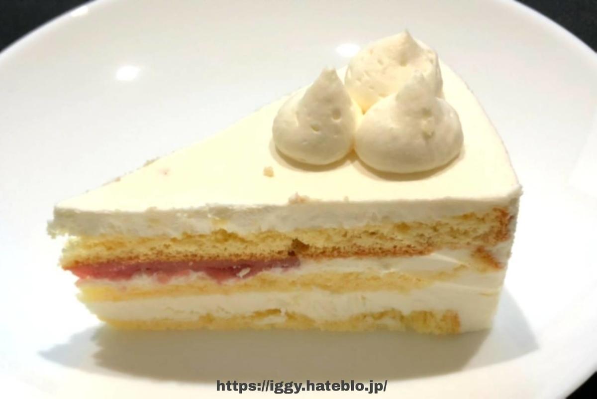 シャトレーゼ 糖質カットのショートケーキ① iggy2019