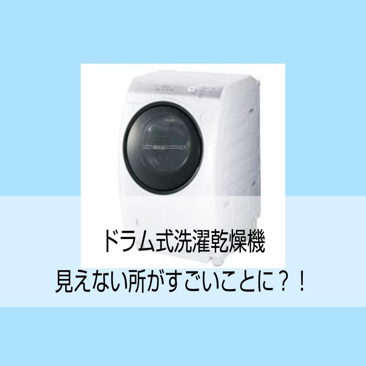 ドラム式洗濯乾燥機 アイキャッチ画像 iggy2019