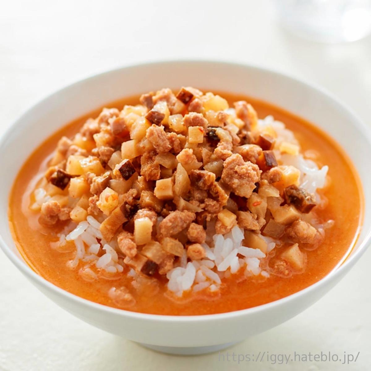 無印良品「冷やし胡麻味噌担々スープ」食べ方 口コミ レビュー