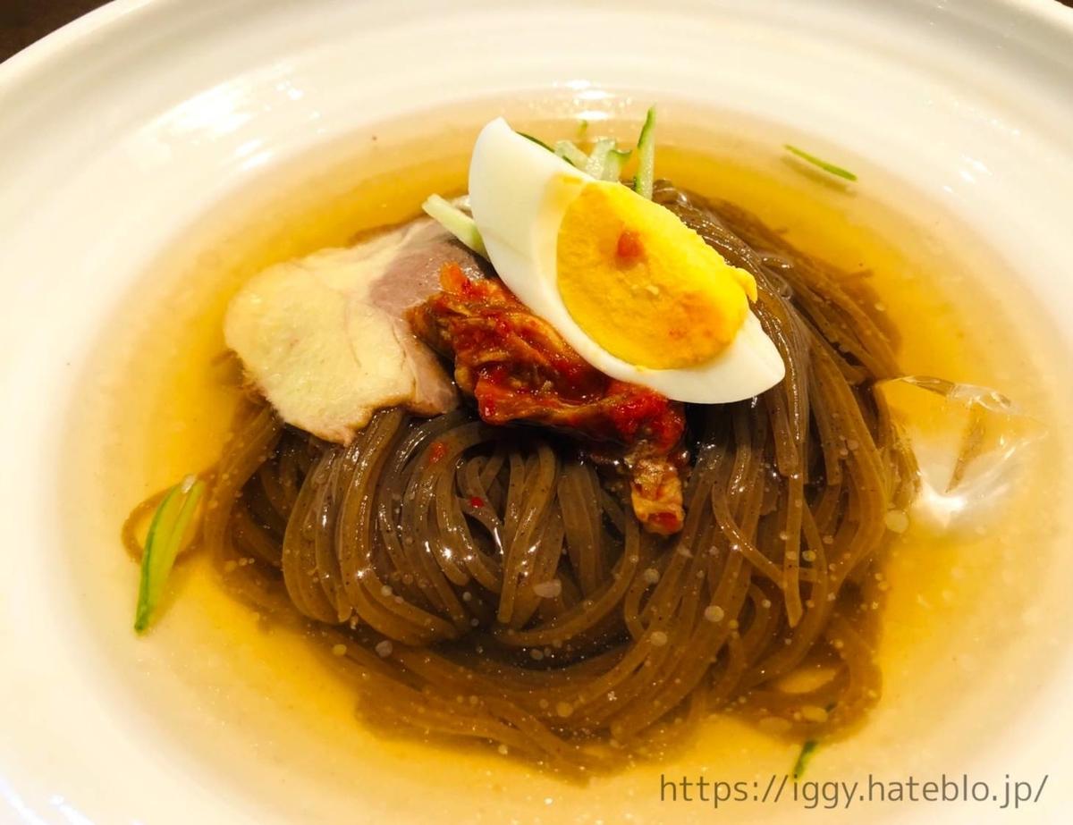 ワンカルビ 焼肉ランチ 食べ放題「韓国冷麺」 LIFE