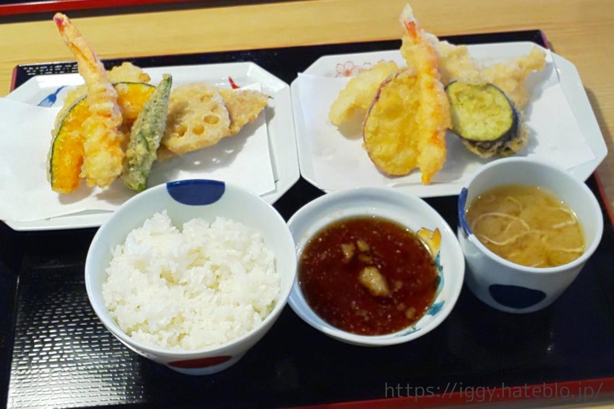 天ぷら専門店 二丈陣屋 特盛定食  LIFE