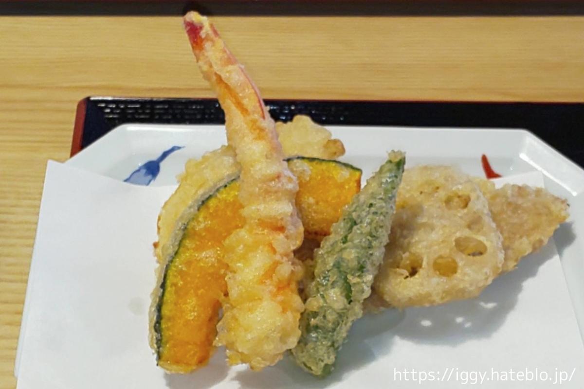 天ぷら専門店 二丈陣屋 特盛定食 天ぷらの種類  LIFE