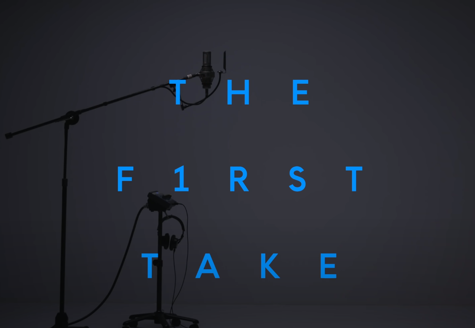 THE FIRST TAKE ロゴ LIFE