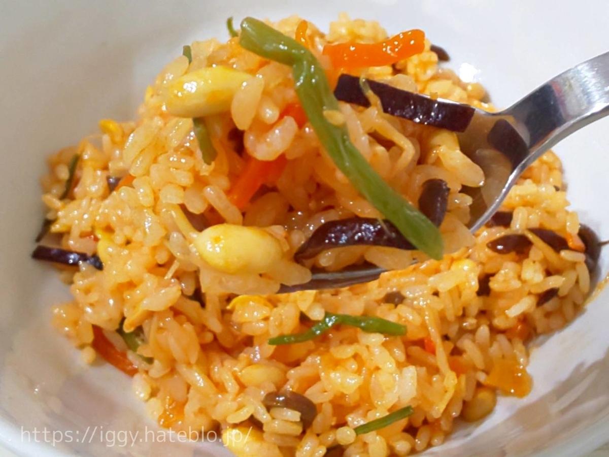 【カルディ】ご飯に混ぜるだけ「ビビンバの素」③ LIFE