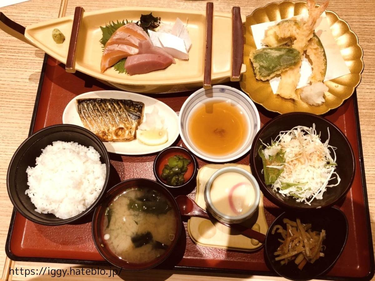 『こんぴら丸』こんぴら定食+ミニ天ぷらセット LIFE