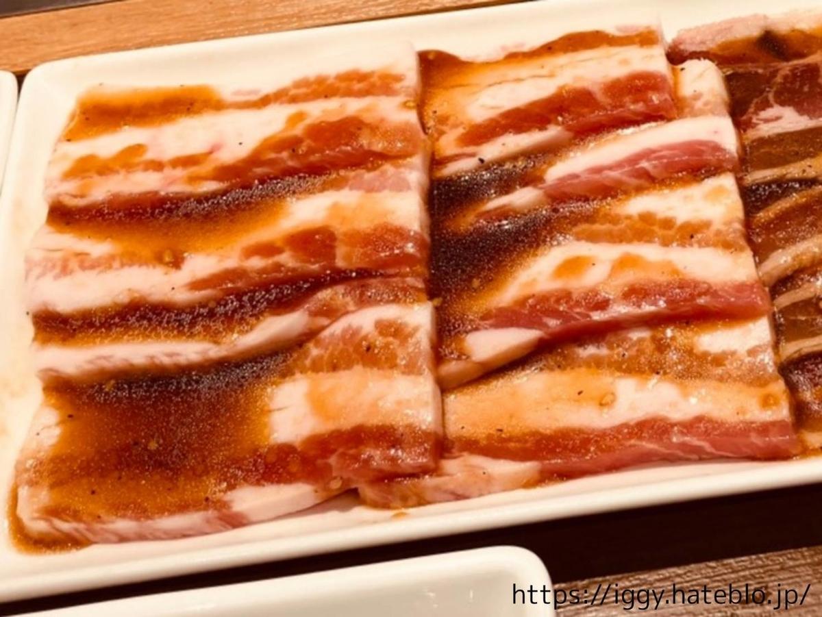 焼肉ライク 福岡 1人焼肉 メニュー「メガ盛りセット」イベリコ豚カルビ 感想